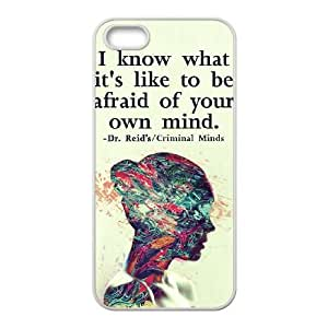 Criminal Minds iPhone5s Cell Phone Case White WON6189218020407