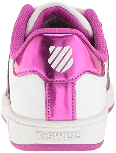 VN K rose Sneaker Kids' Classic Swiss blanc atxCwrqaR