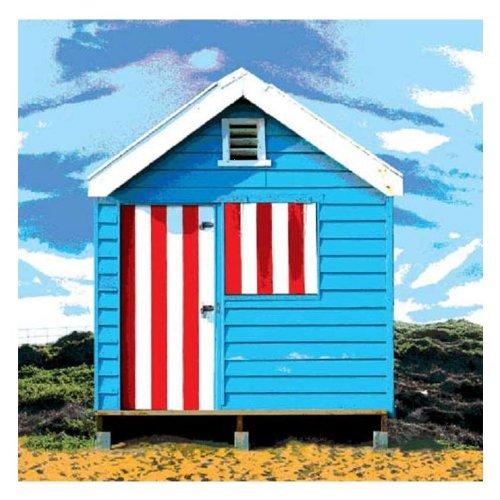 Weatherproof Canvas Art, American - Hut American