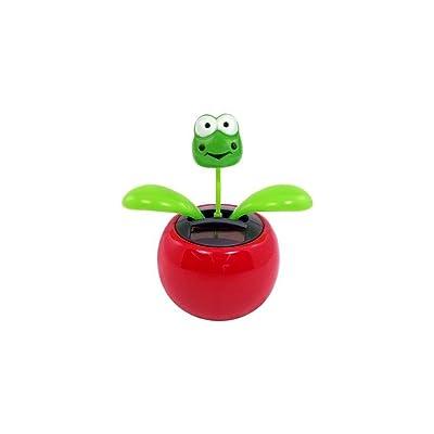 Samorthatrade Solar Dancing Flower - Frog - 6 Pack: Toys & Games