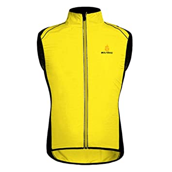 SeniorMar WOSAWE MTB Bicycle Cycling Sleeveless Vest Bicycle Jerseys Windproof  Waterproof Men Women Sports Outwear Clothing Bike Vests  Amazon.co.uk   Sports ... c30e6d40f