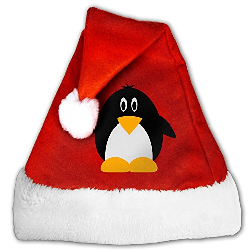 Golp Pingu Velvet Santa Claus Hat Cute Christmas Merry Christmas Hats Adults Children Costume XMas Decor Party Supplies - Antarctica Costume For Kids