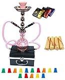 hookah starter kit - Zebra Smoke Starter Series: 18
