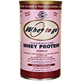 Solgar 454 g Whey To Go Natural Strawberry Flavour Protein Powder