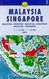 Carte routière : Malaysia, Singapore