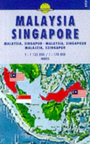 Carte routière : Malaysia, Singapore (Anglais) Carte – Carte pliée, 23 juin 2001 Cartes Cartographia Editions Cartographia 963352959X Cartes routières Asie