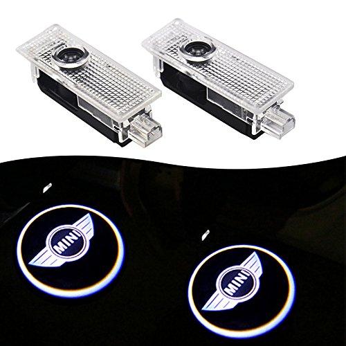 MINI Projection LED Lampe 3D d' é clairage Porte de Voiture Lumiè re Car LED Projecteur de La Lampe porte (2Pcs) OPAYIXUNGS