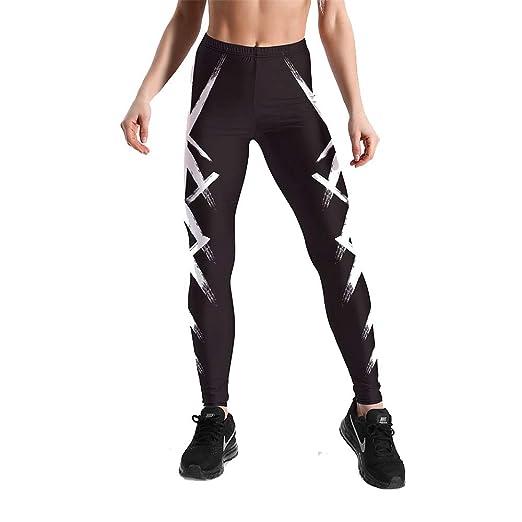 Leggins Desportivos Pantalones Yoga, Mujer Talla grande Moda ...