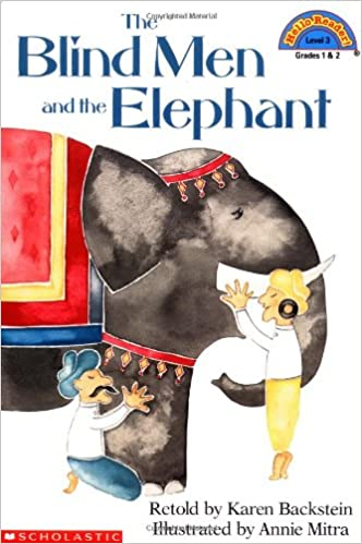 Image result for the blind man and the elephant book