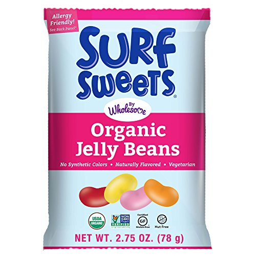 Surf Sweets Organic Jelly Beans 2.75 Oz., 48-Pack by Surf Sweets