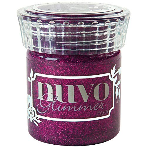 (Nuvo NGP-962 Glimmer Paste 1.6oz, Plum Spinel)