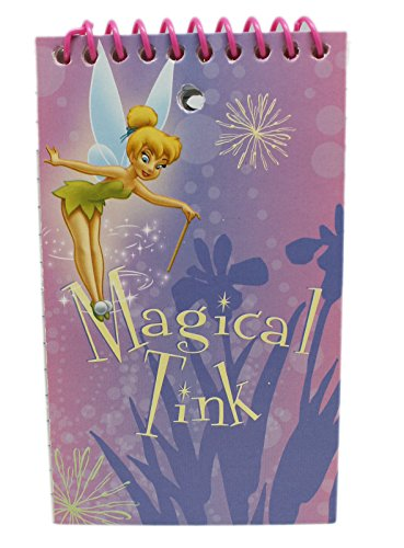 (Pink Magical Tinkerbell Reporter Style Notepad)