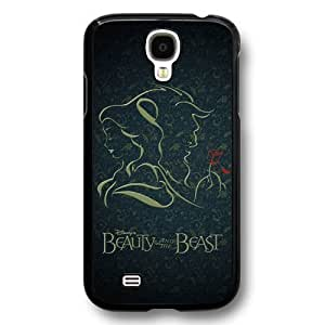 Disney Cartoon Beauty and The Beast, Hard Plastic Case For Iphone 6 Cover - Disney Princess For Iphone 6 Cover - Black