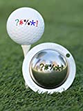 Tin Cup Out of Bounds Golf Ball Custom Marker Alignment Tool