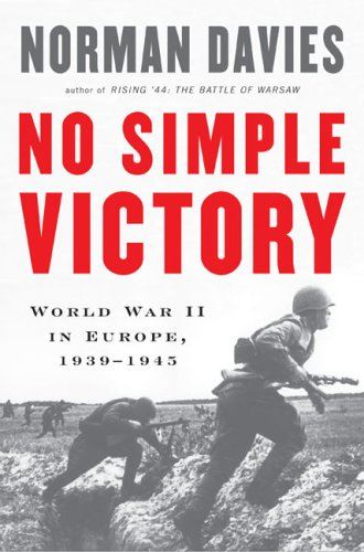 Download No Simple Victory: World War II in Europe, 1939-1945 pdf epub