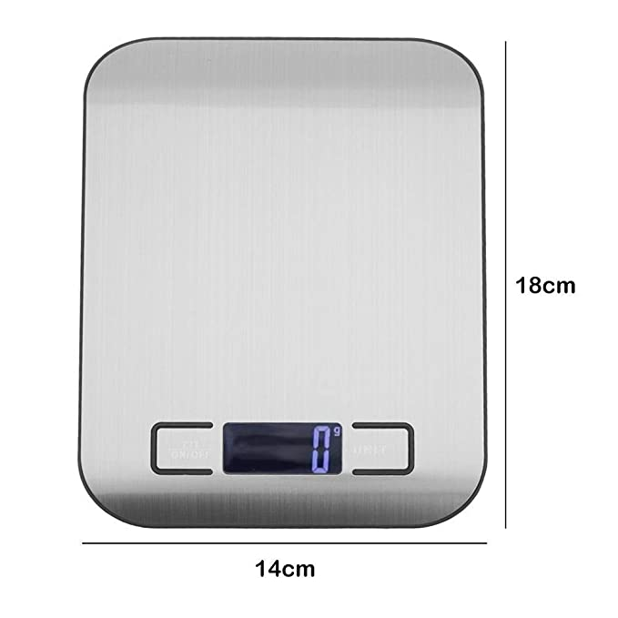 Amazon.com: 5kg/1g Electronic LCD Digital Food Scale Kitchen Tea Baking Weighting Tool, HOLYFLY: Kitchen & Dining