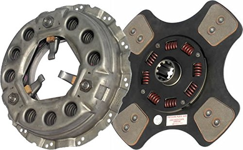 IATCO LP2076-137-IAT 330mm x 1-1//2 Stamped Steel Clutch Single-Plate, Push-Type, 4-Paddle // 8-Spring, 2400 Plate Load // 500 Torque