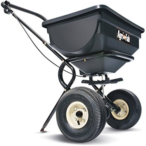 Agri Fab Tow Broadcast Spreader (Push Gardening Tools Broadcast Spreader)