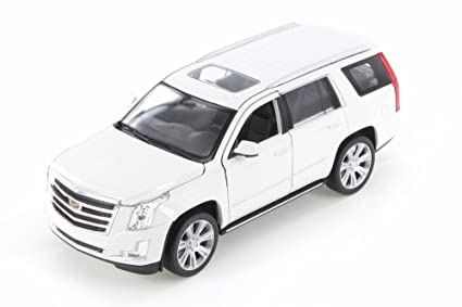 Amazon Com Welly 2017 Cadillac Escalade White 24084wwt 1 24