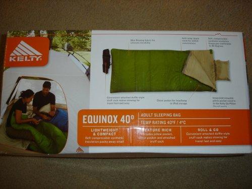 Kelty Equinox 40 Degree Adult Sleeping Bag