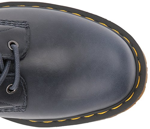 Dr. Martens Menns 1460 Marineblå Orleans Skinn Mote Boot Navy