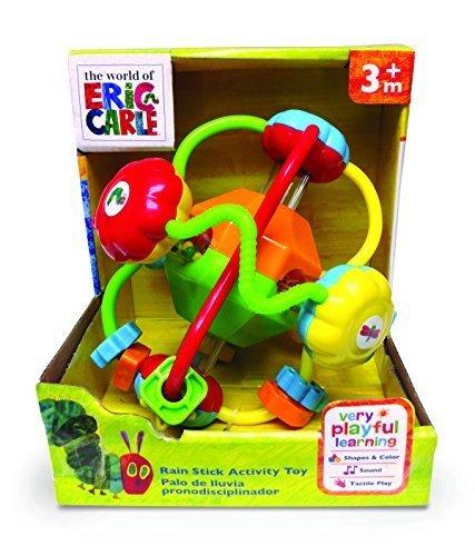 World of Eric Carle, Caterpillar Grabable Rainstick Toy