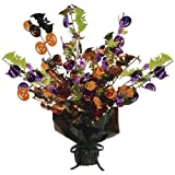 Beistle Halloween Gleam and Burst Centerpiece, 15-Inch
