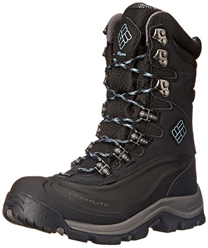 Columbia Women's Bugaboot Plus III XTM OH Winter Boot, Black/Dark Mirage, 5 M US