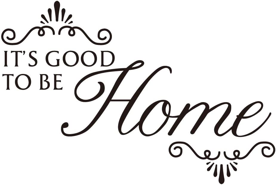 ZSSZ It's Good to BE Home Vinyl Wall Decal Sweet Words Art Letters House Décor