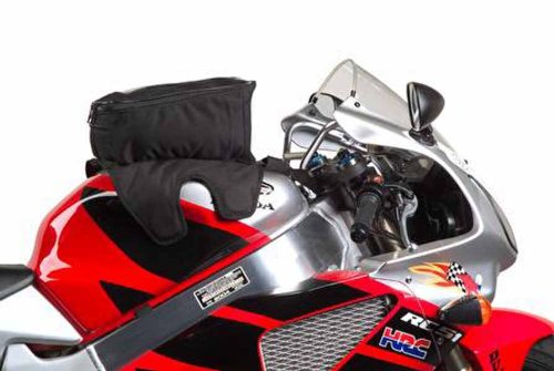Dowco Rally Pack by 50108-00 Water Resistant Magnetic Mount Motorcycle Tank Bag with Window