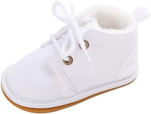 0-18 Meses, SO-buts Bebé Recién Nacido Niñas Niños Zapatos Sólidos Imprimir Primeros Caminantes Suela Suave Zapatos Lindos Zapatillas De Deporte: Amazon.es: Zapatos y complementos