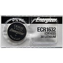2PC Energizer ECR1632 CR1632 Lithium Coin Batteries 3V
