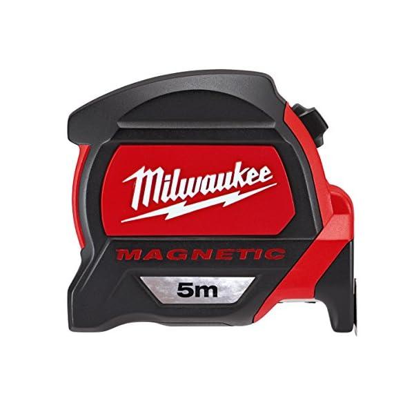 Milwaukee-48227305-Premium-Magnetic-Tape-Measure-HP5Mg27-RedBlack