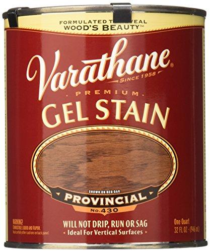 Varathane 224457H Premium Gel Stain, Quart, Provincial