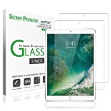 iPad Pro 10.5 inch Screen Protector Glass (2-Pack), amFilm Tempered Glass Screen Protector for Apple iPad Pro 10.5