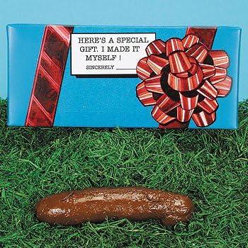 Forum Novelties Fake Turd Gag Gift Black