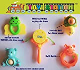 TOY-STATION Baby Teether & Rattles pack [5Pcs] NEW