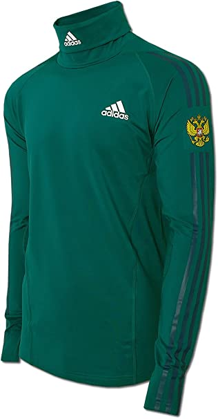 adidas Herren Rollneck Team Russia Rollkragen Longsleeve Shirt Skirolli Olympia