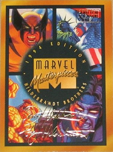 Fleer Marvel Masterpieces 1994 Brothers Hildebrandt Series Complete 140 Card Base Set of Trading Cards