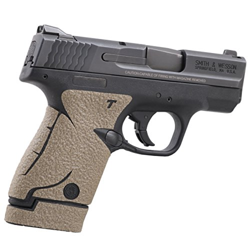 Talon Grip for Smith & Wesson M&P Shield MOSS Rubber - 705R W/ TWO Ext Mag Grips 737 MOSS