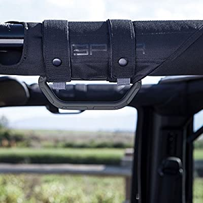 GPCA Metal Grab Handle - GP-Grip LITE for Jeep Wrangler JL JT JK Sport Sahara Freedom Rubicon 4DR 2DR 2007-2020 with 3