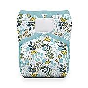 One Size Pocket Diaper Hook & Loop - Birdie