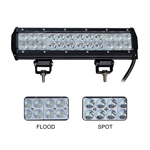 Nilight LED Light Bar Work Light Jeep Off Road Led Lights Running Lights