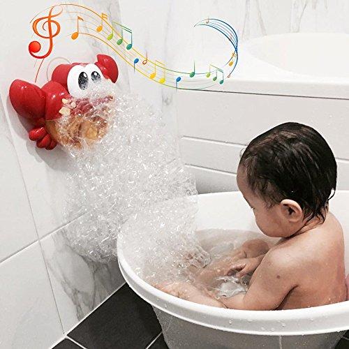 - Aijiaye Baby Bath Tub Toys,Bath Bubble Maker Automated Spout Cute Crab Bath Toy,Toy Bath Time Fun Best Gift for Toddlers Boys Girls Kids Children
