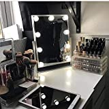 Best Lighted Makeup Mirrors - Hollywood Lighted Vanity Makeup Mirror,Plug in Light-up Girls Review