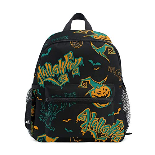 Halloween Kids Backpacks School Bags for Boys Girls