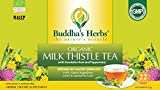 Buddha's Herbs Premium Organic Milk Thistle Tea with Dandelion Root (Pack of 2)(44 Teabags)