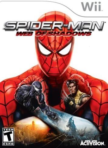 Spider-Man: Web of Shadows - Nintendo Wii by Activision: Amazon.es ...