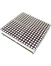 H HILABEE 32 Mm LED-rastermodule 16 X 16 Dotmatrix Ondertiteltekstweergave 2,4 V 5 V.