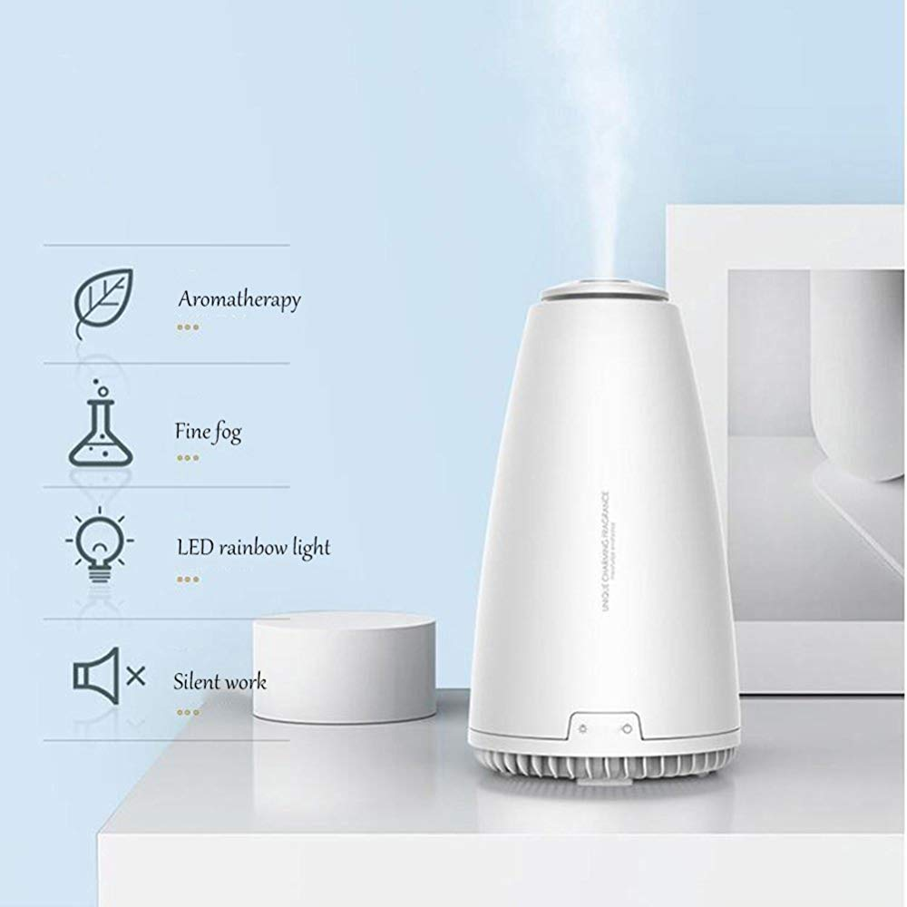 QSCA Aromatherapy Instrument Mini Aromatherapy Machine Household Plug-in Bedroom Office Essential Oil Fragrance lamp by QSCA (Image #4)